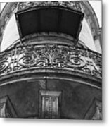 Round Balcony In France Metal Print