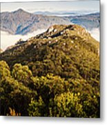 Round Mountain Lookout Metal Print