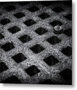 Round Peg Square Hole Metal Print