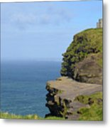 Round Stone Tower Refferred To As O'brien's Tower In Ireland Metal Print