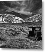 Round Valley Relic Revisited Metal Print