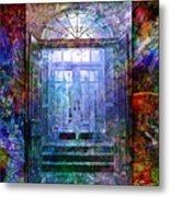 Rounded Doors Metal Print