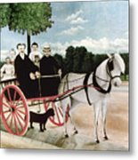 Rousseau: Cart, 1908 Metal Print