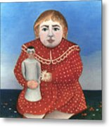 Rousseau: Child/doll, C1906 Metal Print