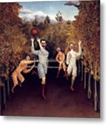Rousseau: Football, 1908 Metal Print