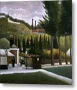 Rousseau: House, C1900 Metal Print