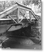 Route 532 Bridge Over The Delaware Canal - Washington's Crossing Metal Print