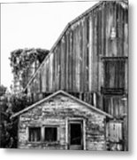 Route 66 Barn 1 Metal Print