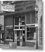 Route 66 - Chenoa Pharmacy Metal Print