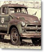 Route 66 Chevy Tumbleweed - #3 Metal Print