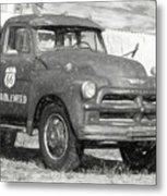 Route 66 Chevy Tumbleweed - #5 Metal Print