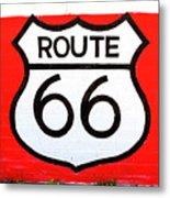 Route 66 Mural Metal Print