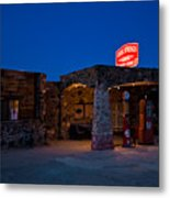 Route 66 Outpost Arizona Metal Print