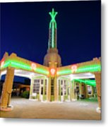 Route 66 Tower Conoco #2 Metal Print