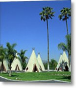 Route 66 - Wigwam Motel 4 Metal Print
