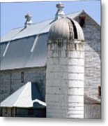 Route 81 Barn Metal Print