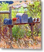 Route One Metal Print