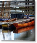 Row Boat Rental Metal Print