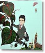 Rowan Atkinson Mr Beanstalk Metal Print