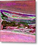 Rowboat Fluorescence 4 Metal Print