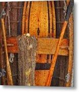 Rowboat Sandhamn Metal Print