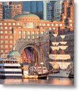 Rowes Wharf Metal Print