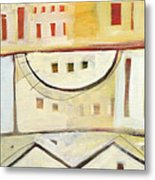 Rowhouse No. 1 Metal Print