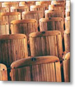 Rows Of Seats Metal Print