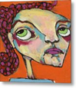 Roxie Box Metal Print