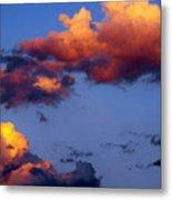 Roy-biv Clouds Metal Print