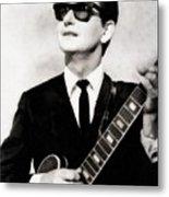 Roy Orbison, Legend Metal Print