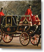 Royal Carriage Metal Print