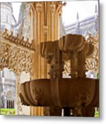 Royal Cloister Of The Batalha Monastery Metal Print