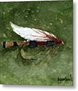 Royal Coachman Wet Fly Metal Print