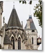 Royal Courts Of Justice Metal Print