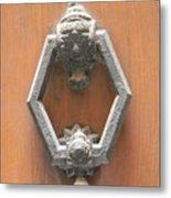 Royal Door Knocker Metal Print