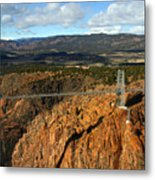 Royal Gorge Metal Print