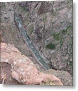 Royal Gorge Bridge Metal Print