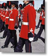 Royal Guards In Ottawa Metal Print