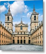 Royal Monastery El Escorial Metal Print