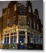 Royal Oak Pub Columbia Road London Metal Print