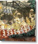Royal Palace Ramayana 11 Metal Print
