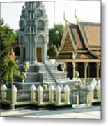 Royal Palace Shrine 02  Metal Print