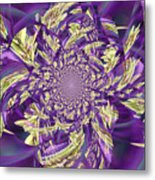 Royal Purple  Metal Print by Rose  Hill