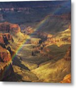 Royal Rainbow Metal Print by Peter Coskun