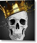 Royal Skull Metal Print
