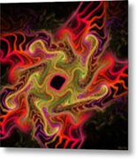 Royal Star Anew Metal Print