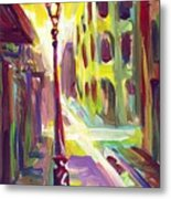 Royal Street New Orleans Metal Print