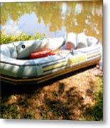 Rubber Boat 1 Metal Print