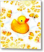 Rubber Ducks Metal Print